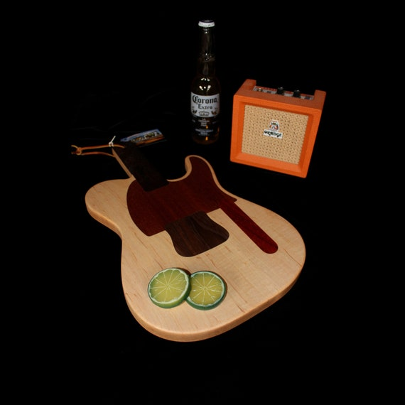 Custom Telecaster Guitar Cutting Board #4
