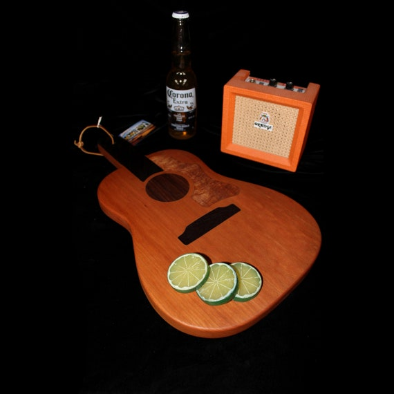 Custom Acoustic Guitar Cutting Board #1