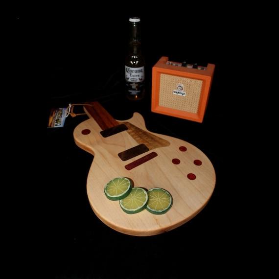 Custom Les Paul Guitar Cutting Board #2