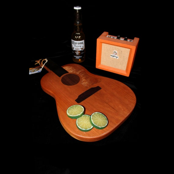 Custom Acoustic Guitar Cutting Board #4