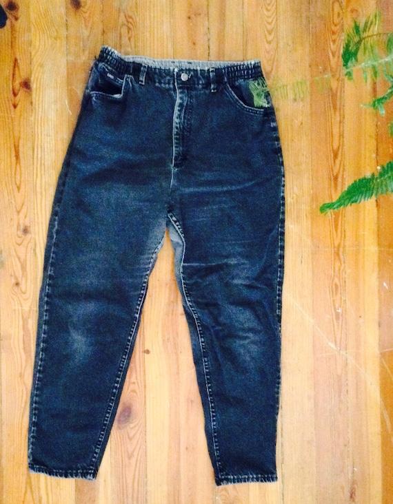 Vintage Black Men's Lee Jeans