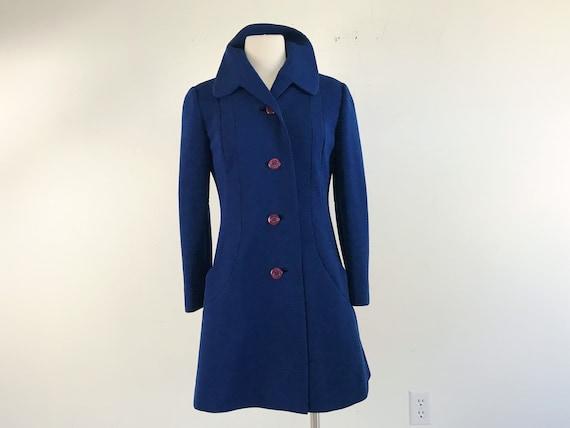 Vintage Mod Fitted Collar Jacket | 60s 70s Mod Ret