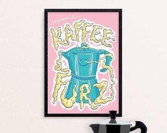 Mmmh… Coffee fart |digital print A4