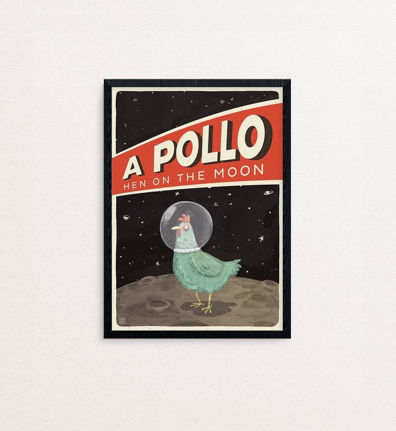 A POLLO  poster A3 image 0