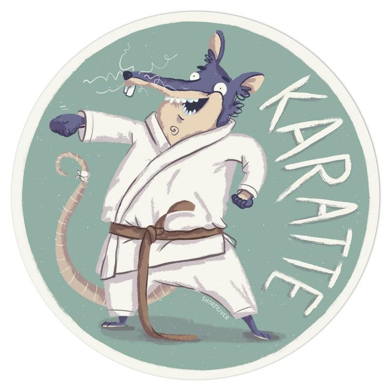 Karatte  sticker image 0