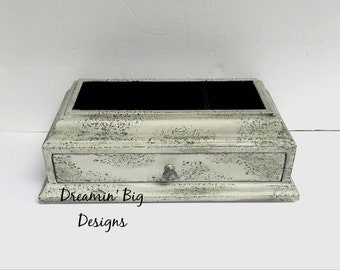 Gray Jewelry Box Etsy