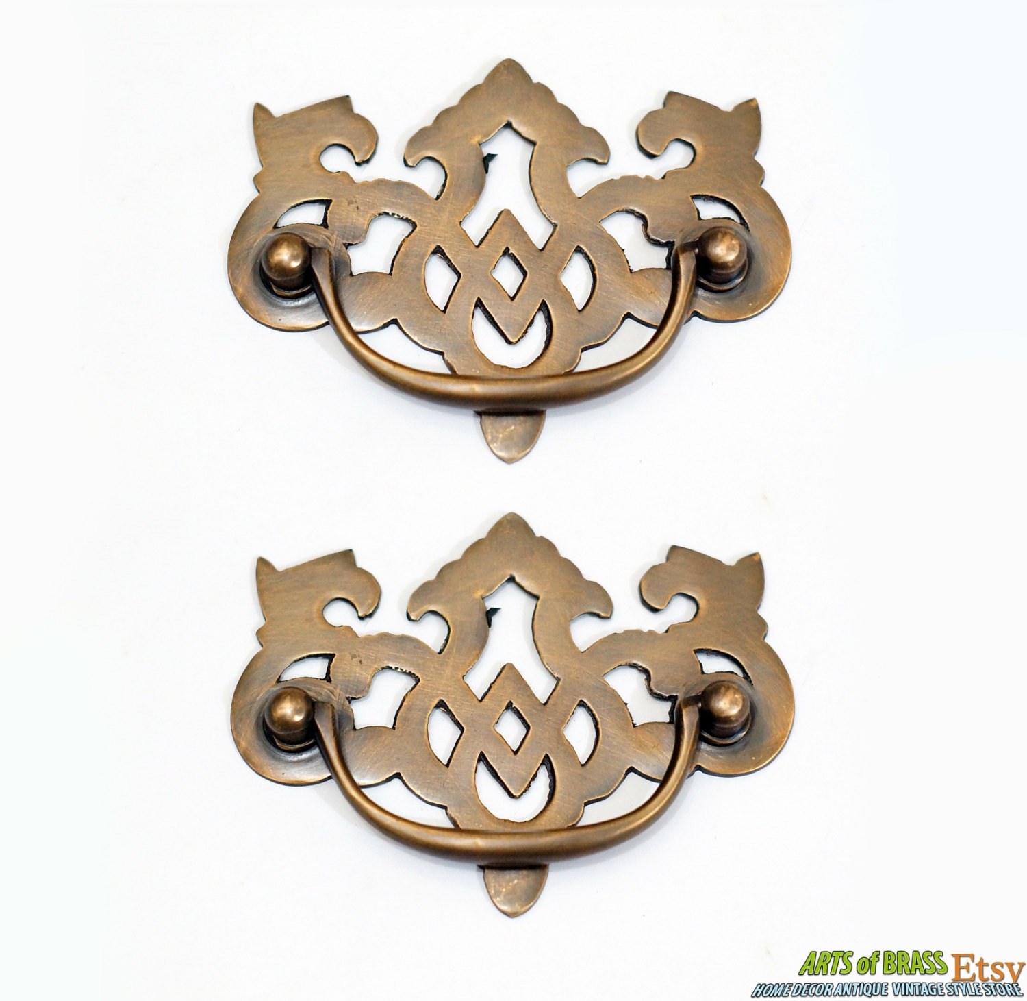 Solid Ebony Beehive Escutcheon With Brass Backplate Door Furniture: 3.93 Lot Of 2 Pcs Vintage Escutcheon Solid Brass Antique