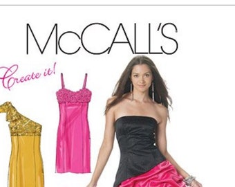 c00a1af3535e McCall s M6283 misses  Lined Princess Seam Dresses