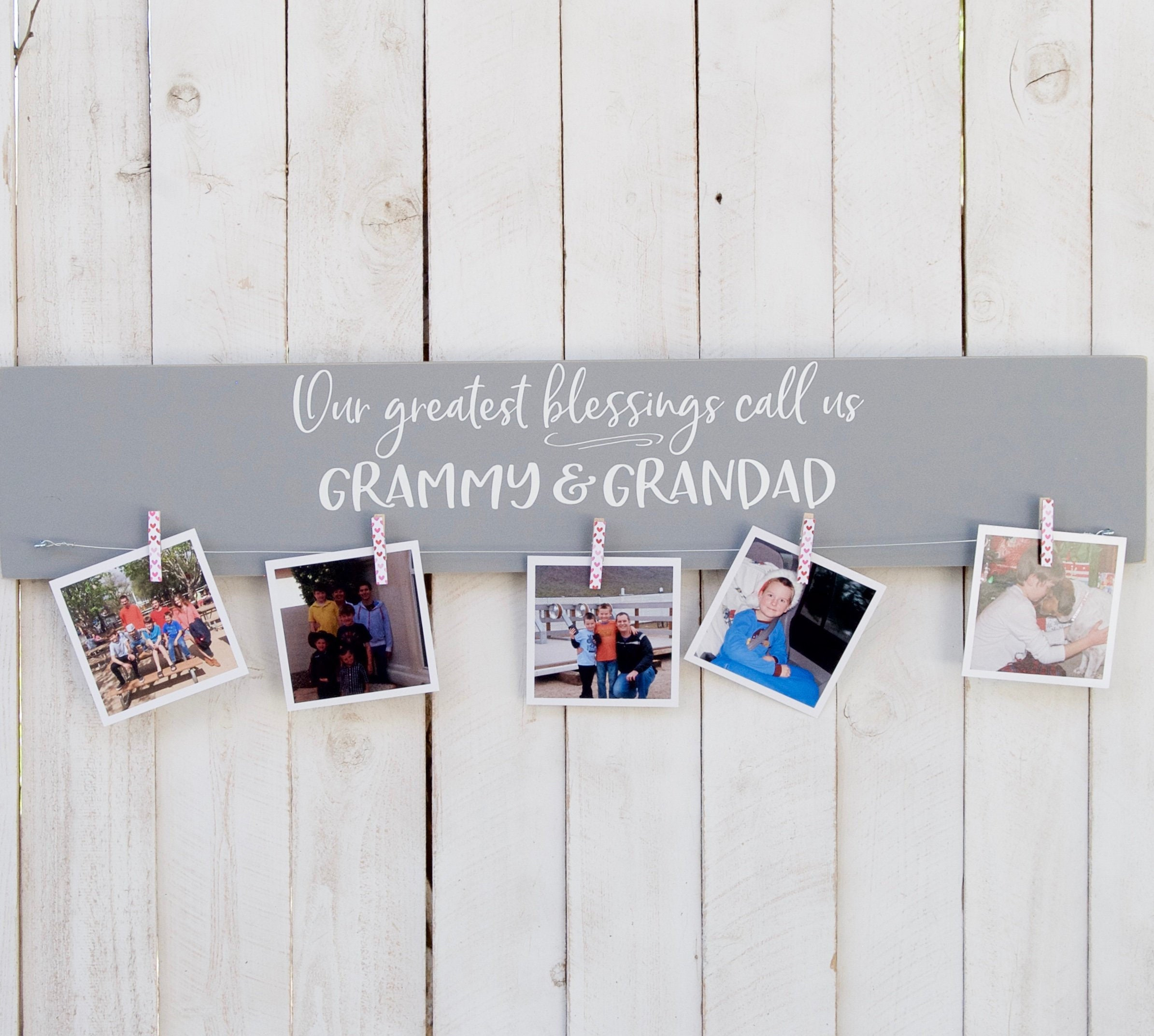 Grandparent photo display, Personalize, cousins picture frame ...