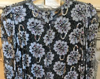 Vintage Exclusive by Jainsons International Beaded Gown