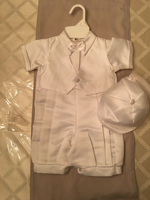 BaptismChristening Baby boy suit NWT