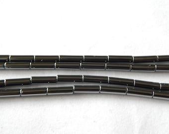 Hematite Cylinder Beads