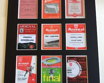 """Arsenal FC vintage programme picture 14"""" by 11"""" Football"""