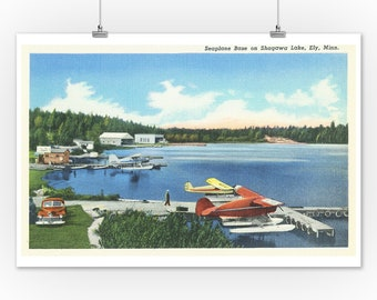 Vintage North West Airlines Alaska Poster A3//A2//A1 Print