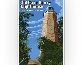 Assateague Virginia Art Posters, Wood /& Metal Signs, Totes Lighthouse