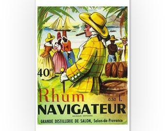 Mucha Fox Land Jamaica Rum Lady Liquor Vintage Poster Repro FREE SHIPPING