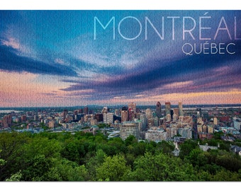 Montreal Canada MTL Oval Vinyl Sticker Decal 5x3