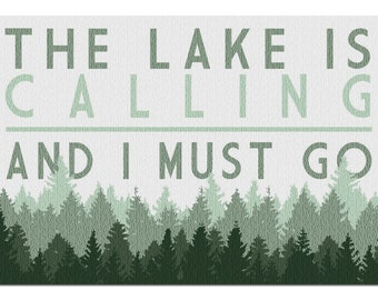 The Lake Is Calling Etsy