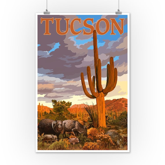 Cactus Imagery Sign HANDMADE IN THE USA