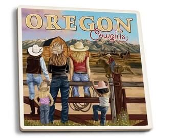OR - OR Cowgirls - LP Artwork (Set of 4 Ceramic Coasters)