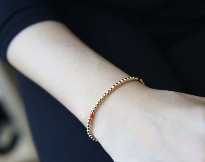 Beaded Bracelet // Gemstone Bracelet