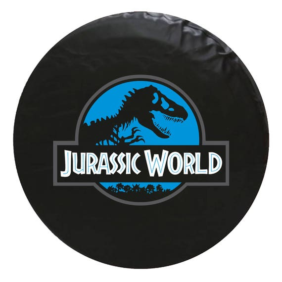 Jurassic World Vinyl Spare Tire Cover Not A Sticker Etsy