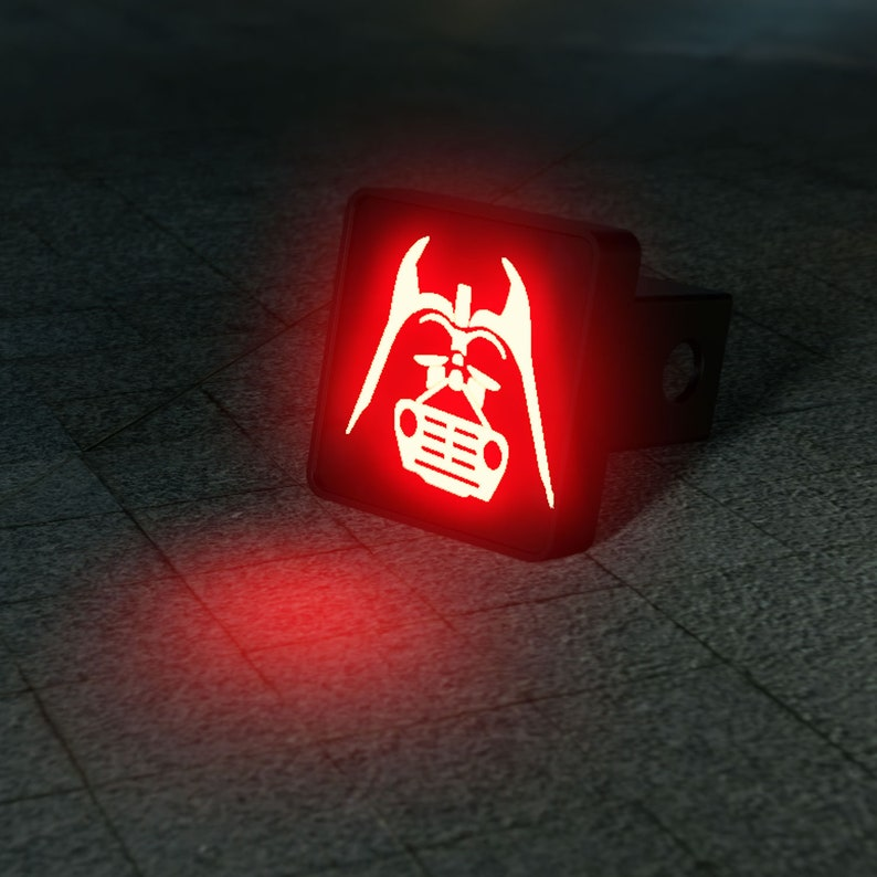 Vader Grill LED Hitch Cover  Third Brake Light image 0