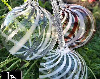popular items for glass christmas ornaments