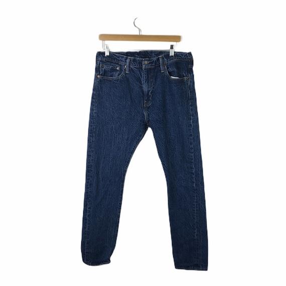 Vintage Levis 510 Darkwash High Waisted Jeans, Si… - image 1