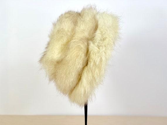 Vintage 60's Russian style faux fur hat - image 2