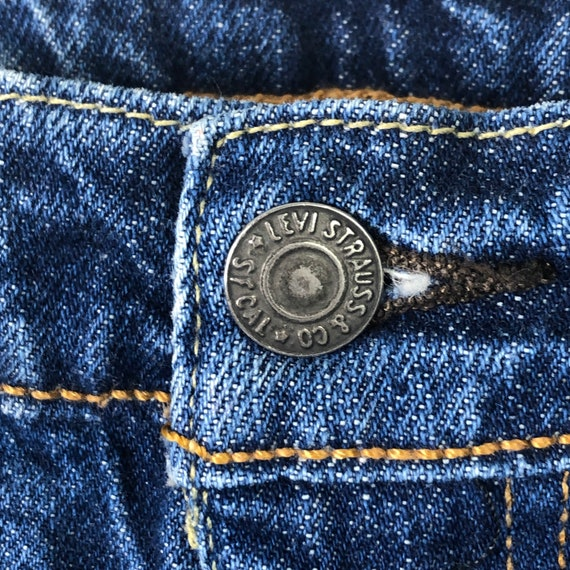 Vintage Levis 510 Darkwash High Waisted Jeans, Si… - image 5