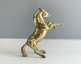 Brass Horse Statue / Brass Figurine / Brass Horse