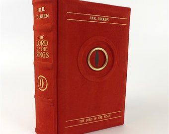 The Lord of the Rings - J.R.R. Tolkien - 1st one volume UK Edition 1968 - leather-bound
