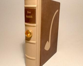 The Hobbit J.R.R. Tolkien Book Fantasy Leather Cover UNIKAT Bilbo Pipe Sliper