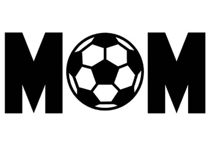 "FREE SHIPPING //  7x2.8"" Soccer Mom Sport Vinyl Decal"