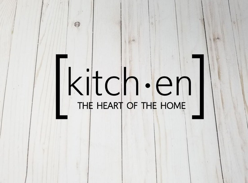 Kitchen The Heart Of The Home Vinyl Decal  Pressure Cooker image 0