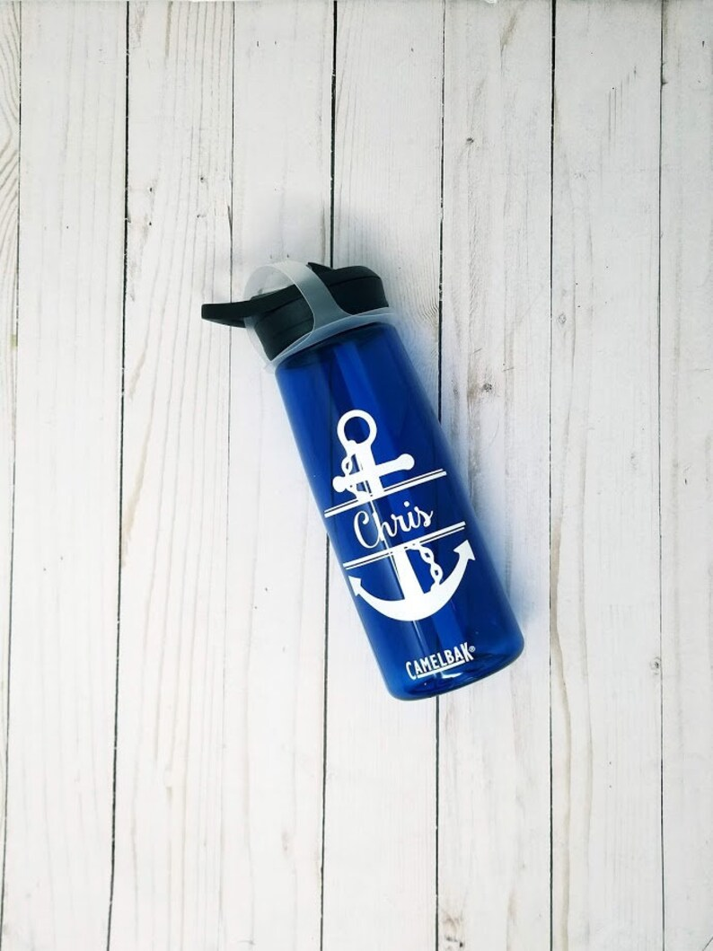Personalized CamelBak ® Water Bottle Anchor  Name Bottle image 0