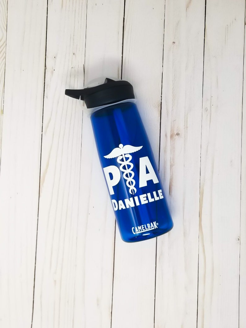 Personalized PA Physician Assistant CamelBak ® Water Bottle image 0