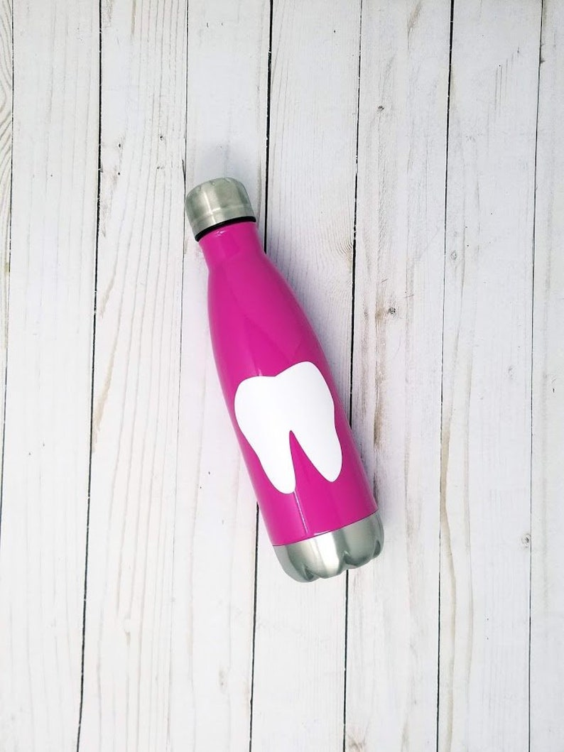 Personalized Stainless Steel Water Bottle  Hygienists Week image 0