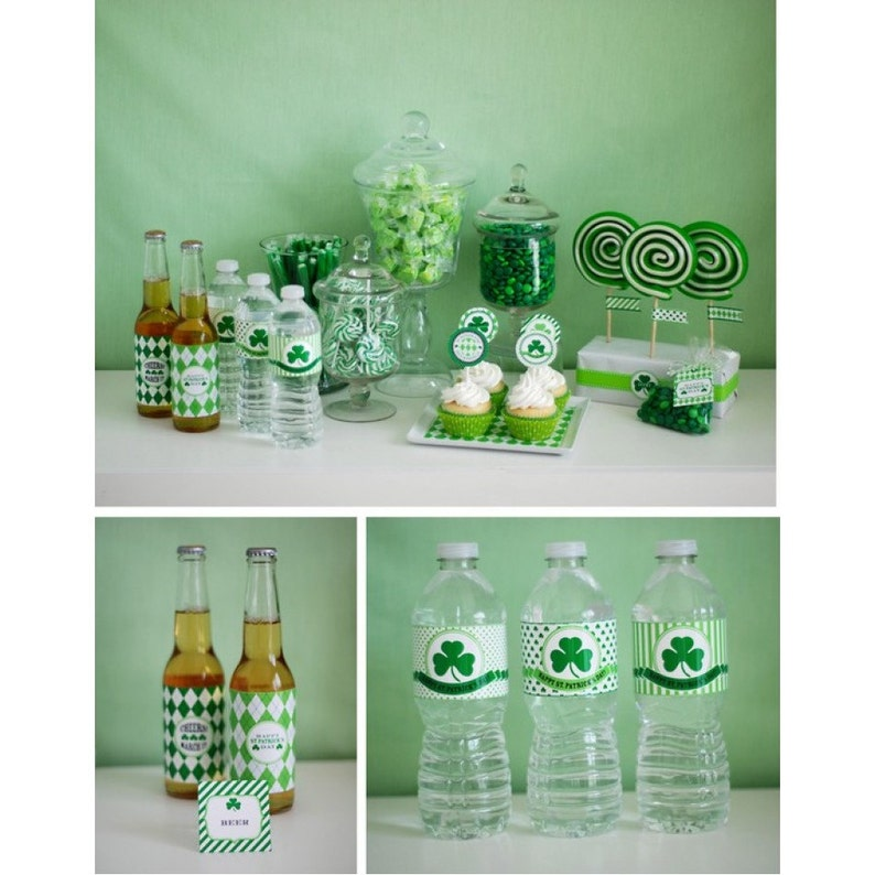 Lucky St Patrick's Day Party Printables