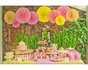 Pink Lemonade Birthday - Printable Customized Package