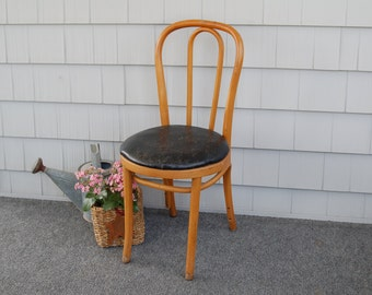 Bentwood Chair - Vintage Bistro Cafe Ice Cream Shop Chair Dining Chair