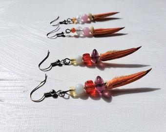 Beaded Crab Earrings (HHH)