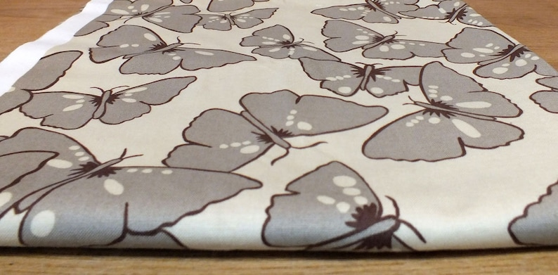 Fabric package Free Spirit-beige with butterflies image 0