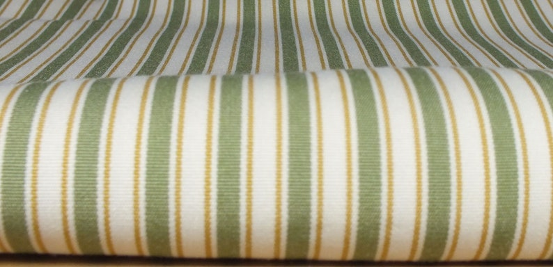 Fabric package stripes green image 0