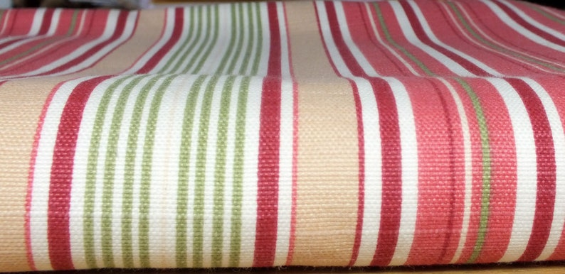 Fabric package stripes pink image 0