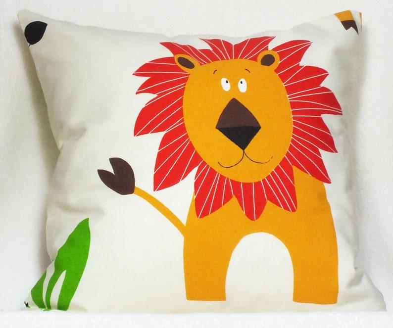 Pillow Lion-Giraffe  Decocits image 0