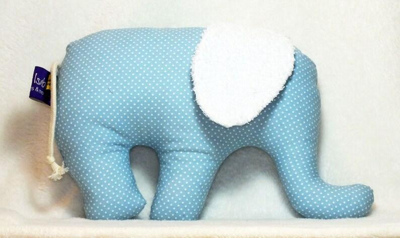 Elephant  name cushion  Birth  Baptism image 0