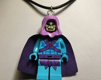 SKELETOR Masters of the Universe Lego Necklace