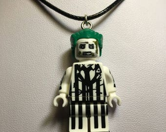 BEETLEJUICE Lego Necklace